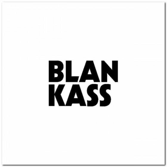 Blankass Logo Vinyl Band...