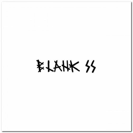 Blank Ss Rock Logo Decal...