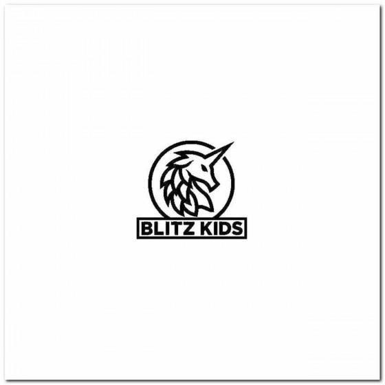 Blitz Kids Logo Vinyl Band...