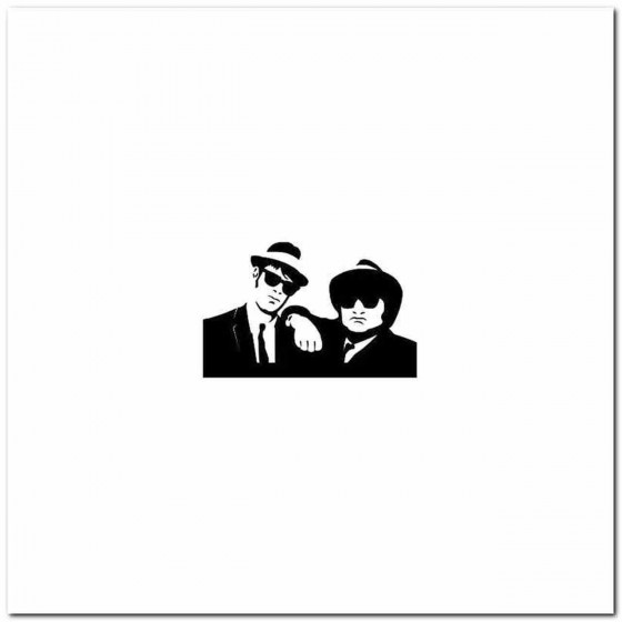 Blues Brothers Decal Band...