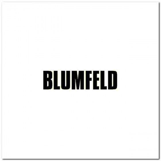 Blumfeld Logo Vinyl Band...