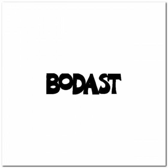 Bodast Logo Vinyl Band Logo...