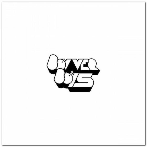 Bovver Boys Logo Vinyl Band...