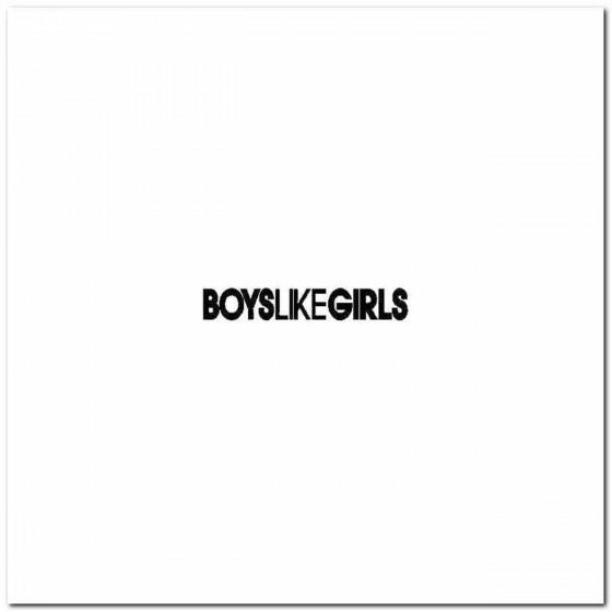 Boys Like Girls Logo Vinyl...