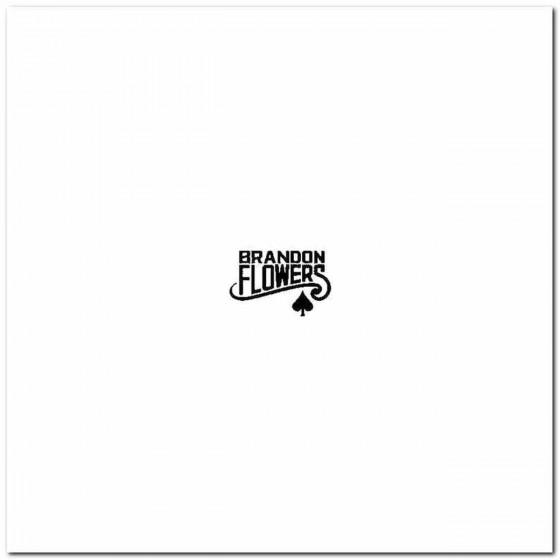 Brandon Flowers Logo Vinyl...