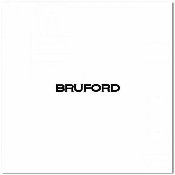 Bruford Logo Vinyl Band...