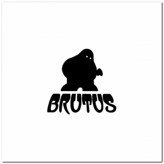 Brutus Logo Vinyl Band Logo...