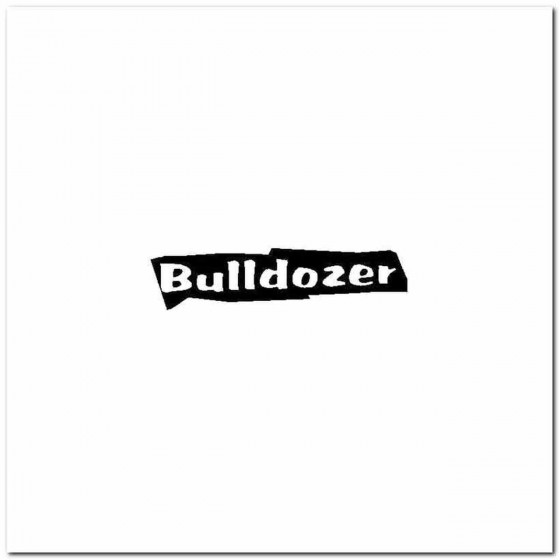 Bulldozer Logo Vinyl Band...