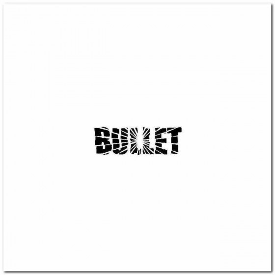 Bullet Logo Decal Band Logo...