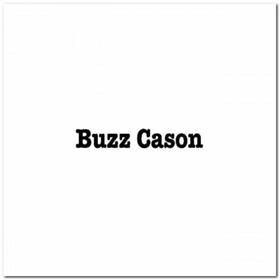 Buzz Cason Logo Vinyl Band...