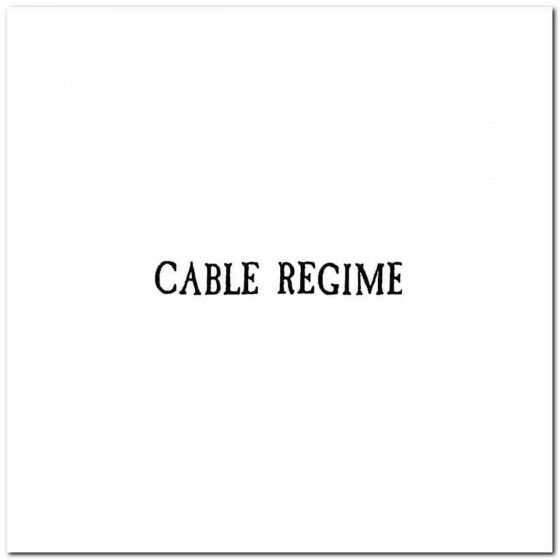 Cable Regime Logo Decal...