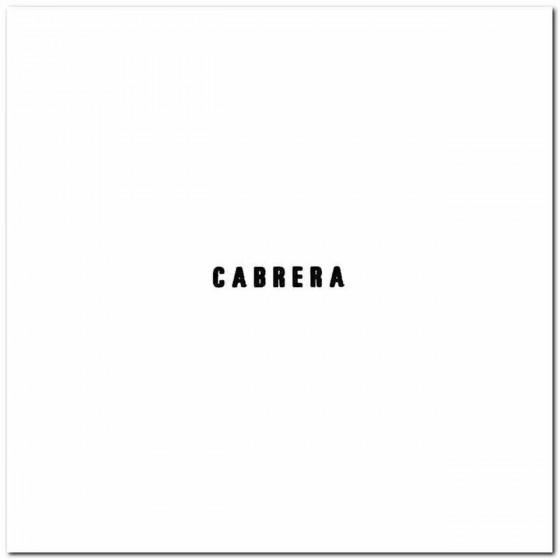 Cabrera Rock Logo Decal...