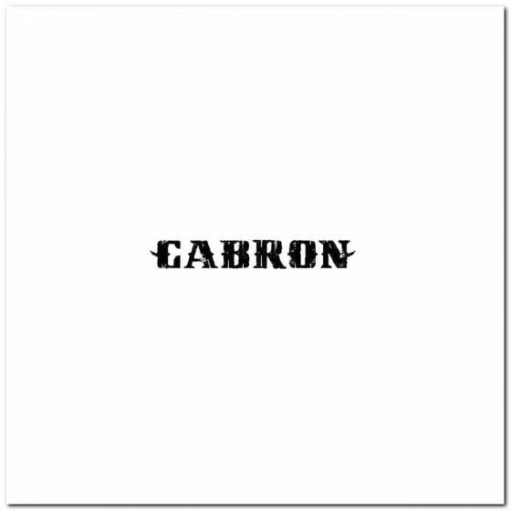 Cabron Rock Logo Decal Band...