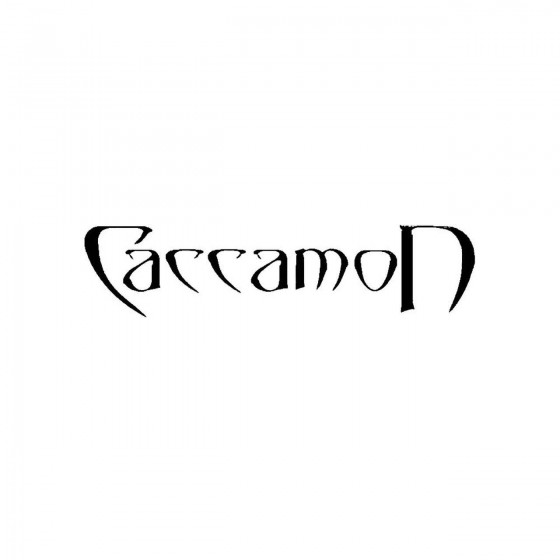 Caccamonband Logo Vinyl Decal