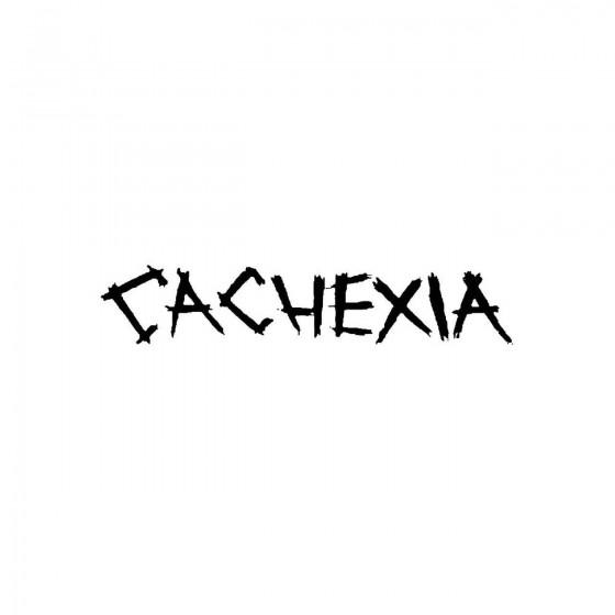 Cachexiaband Logo Vinyl Decal
