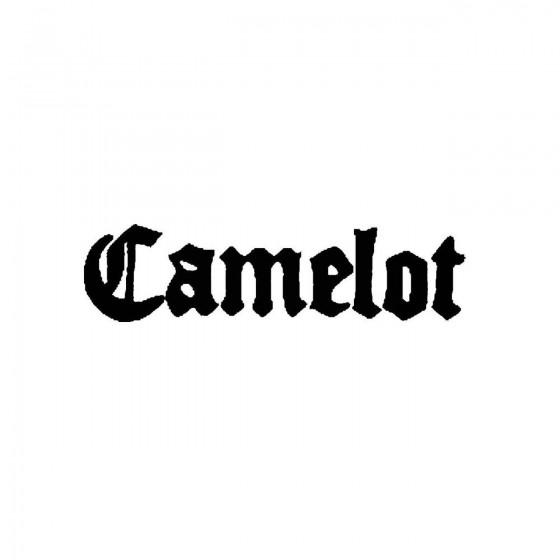 Camelot 2band Logo Vinyl Decal