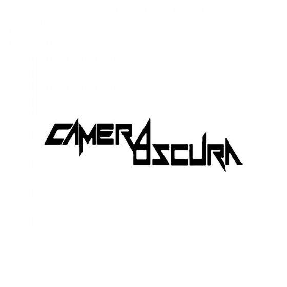 Camera Oscuraband Logo...