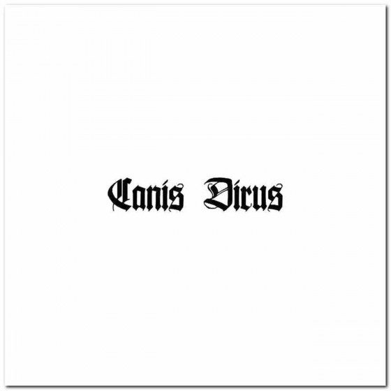 Canis Dirus Logo Decal Band...