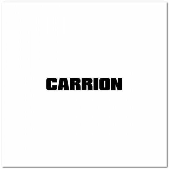 Carrion Pl Logo Decal Band...