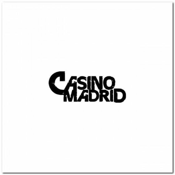 Casino Madrid Logo Decal...