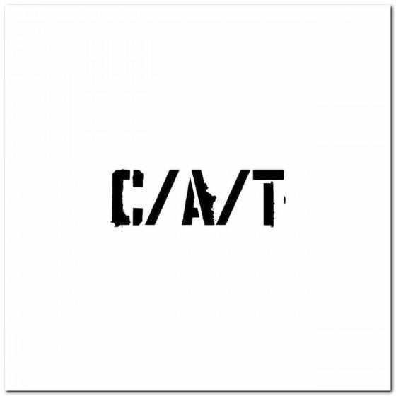 C A T Logo Decal Band Logo...