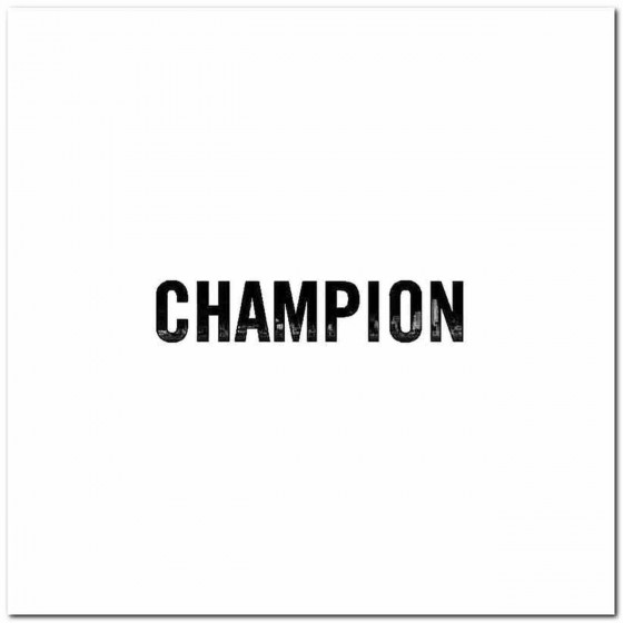 Champion Logo Vinyl Band...