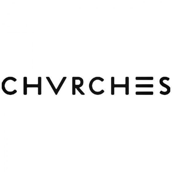 Chvrches Decal Sticker