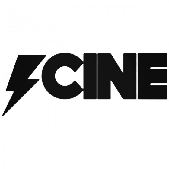 Cine Decal Sticker