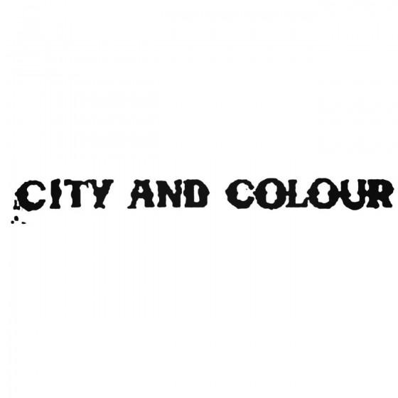 City And Colour Logo Vinyl...
