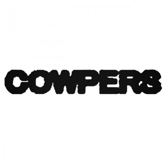 Cowpers Band Decal Sticker