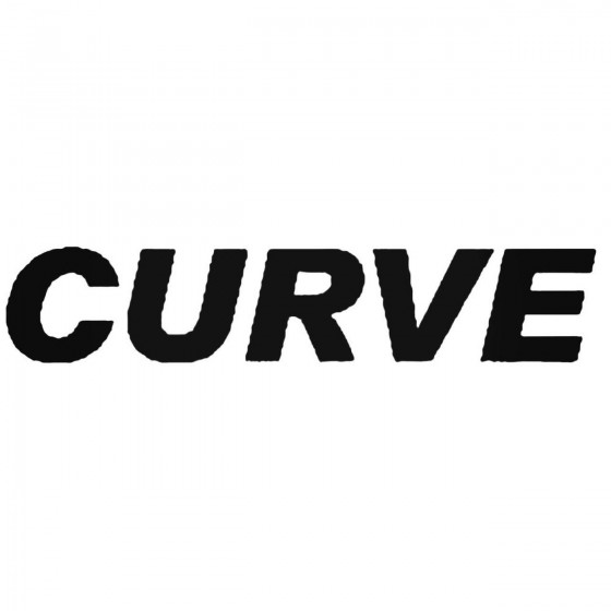 Curve Band Decal Sticker