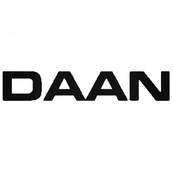 Daan Band Decal Sticker