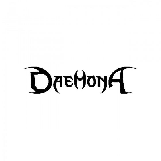 Daemonaband Logo Vinyl Decal