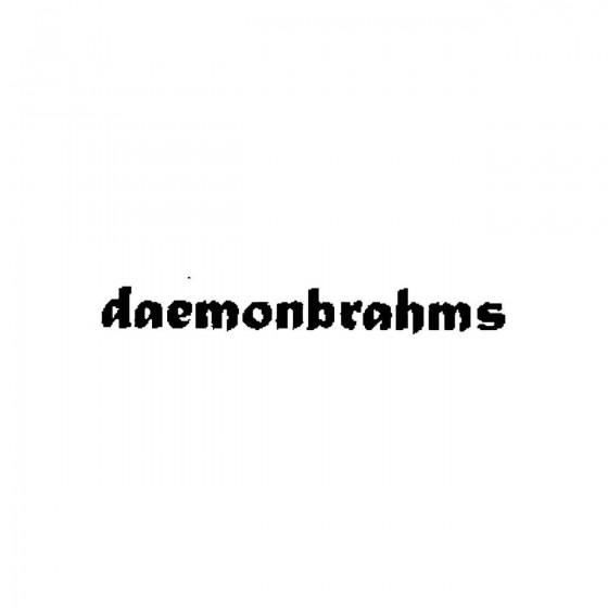 Daemonbrahmsband Logo Vinyl...