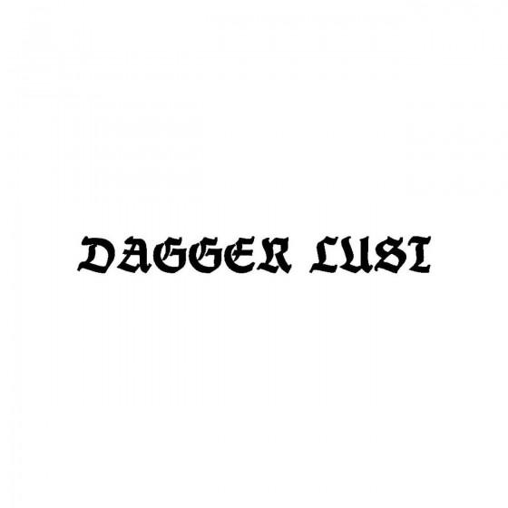Dagger Lustband Logo Vinyl...