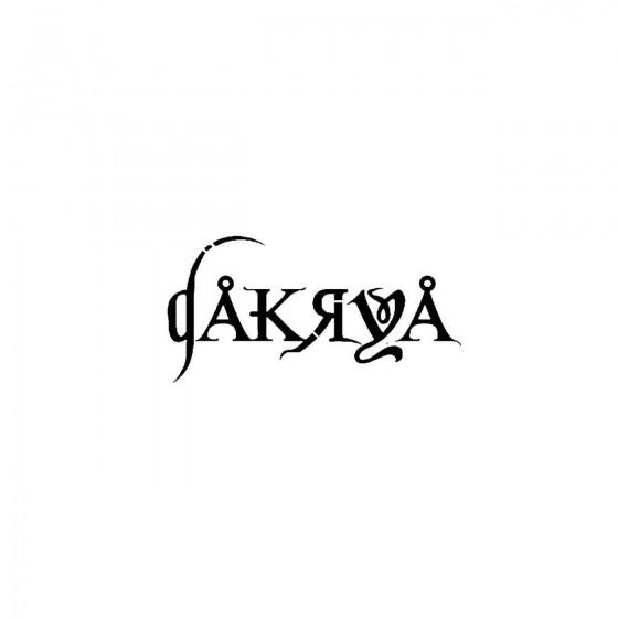 Dakryaband Logo Vinyl Decal