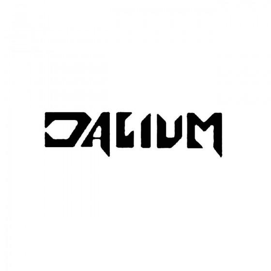 Daliumband Logo Vinyl Decal