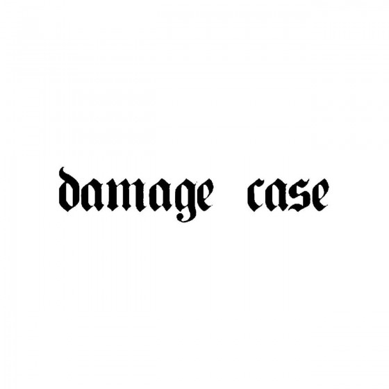 Damage Caseband Logo Vinyl...