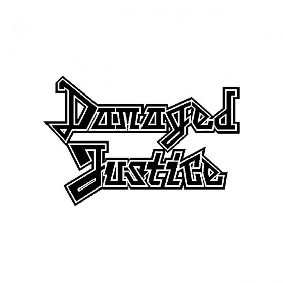 Damaged Justiceband Logo...