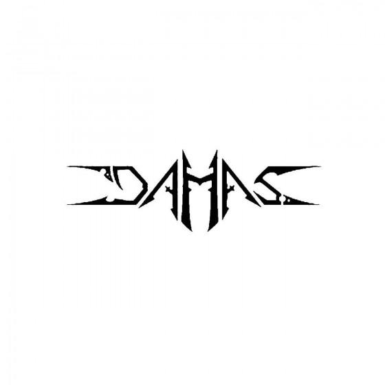 Damasband Logo Vinyl Decal