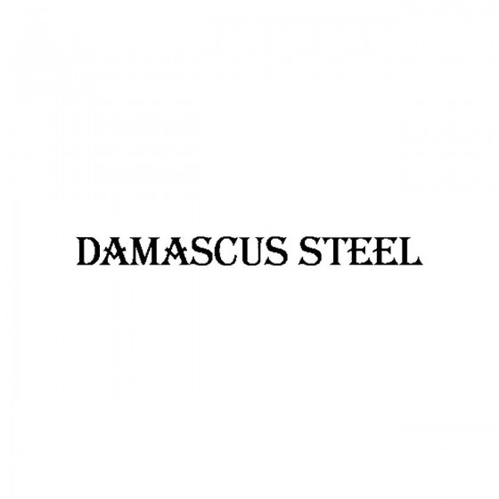 Damascus Steelband Logo...