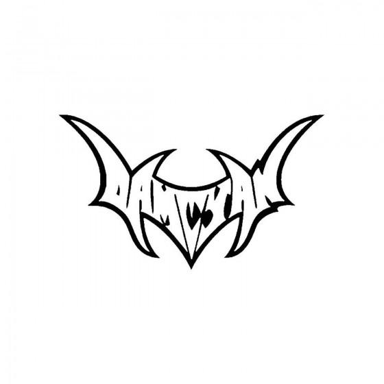 Damcyanband Logo Vinyl Decal