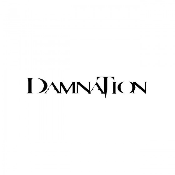 Damnation 13band Logo Vinyl...