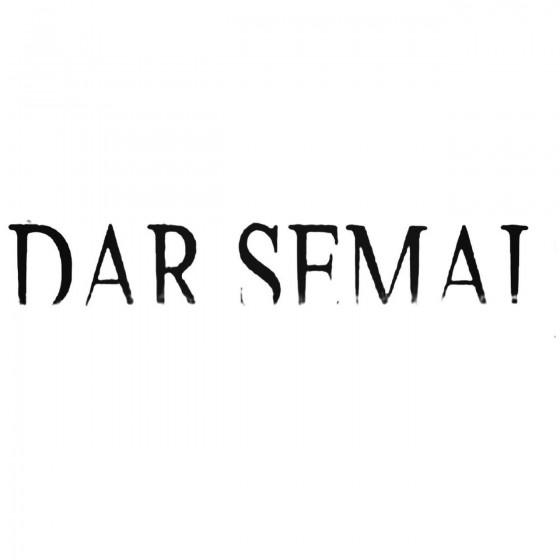 Dar Semai Band Decal Sticker
