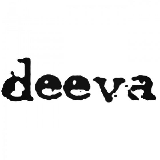 Deeva Band Decal Sticker
