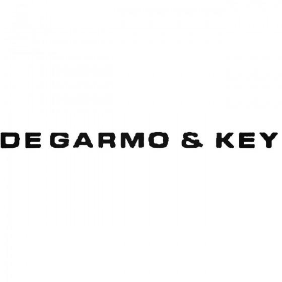 Degarmo And Key Band Decal...