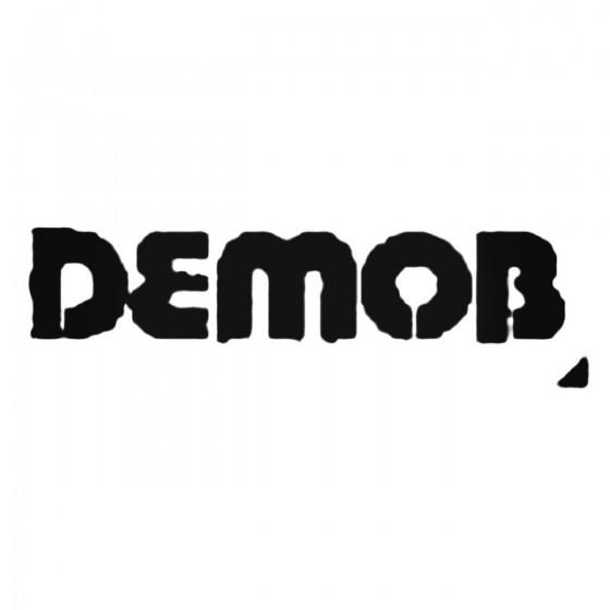 Demob Band Decal Sticker