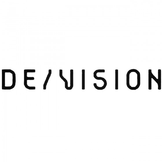 Devision Band Decal Sticker