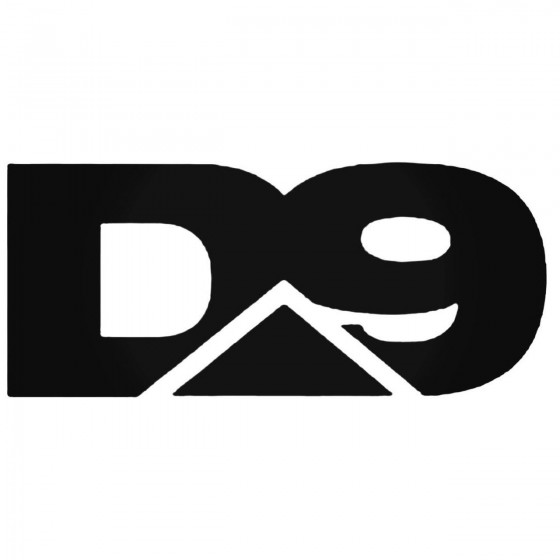 D Nine Aus Band Decal Sticker