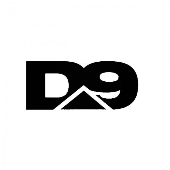 D Nineband Logo Vinyl Decal